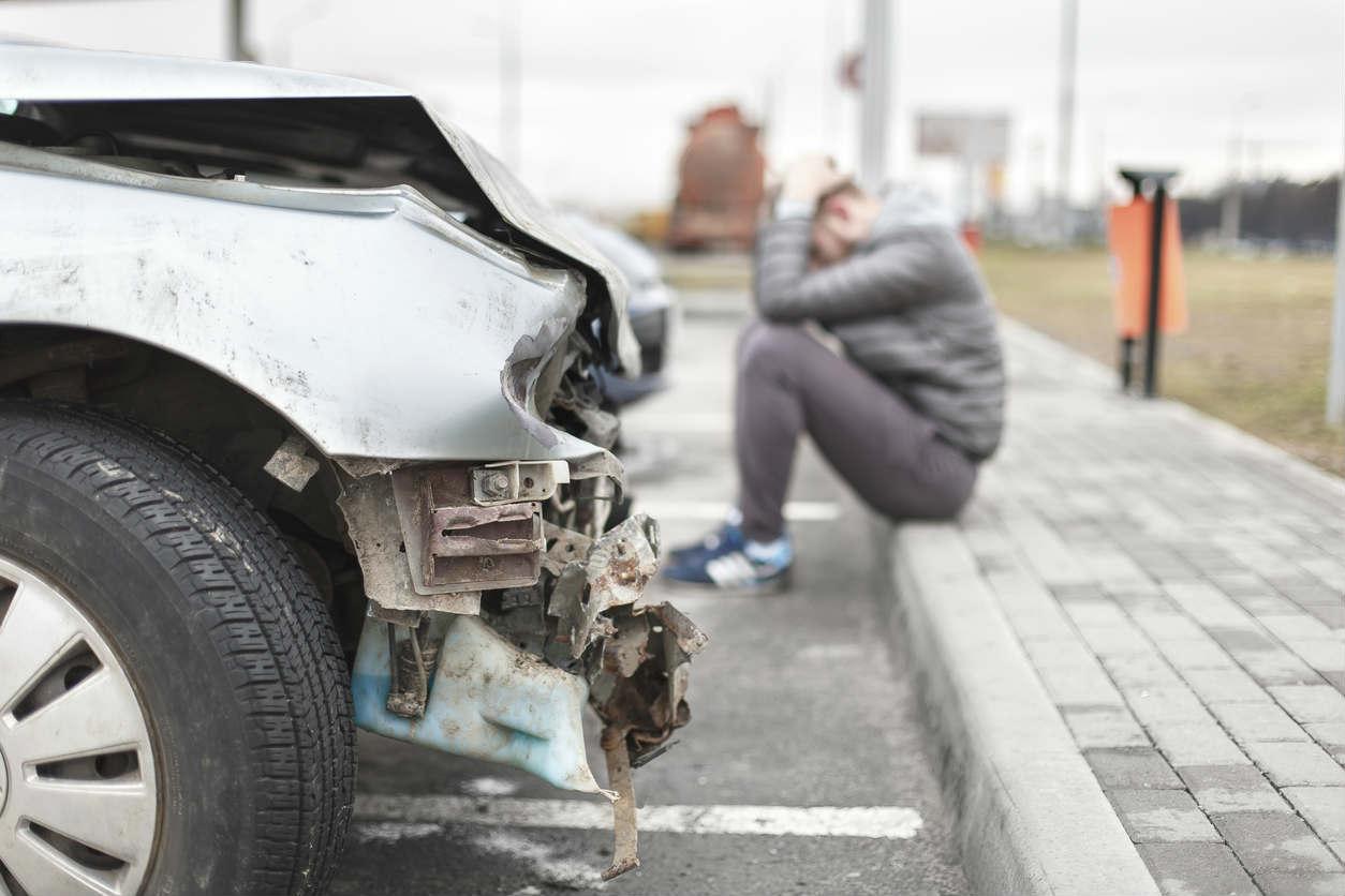 St. Louis man after car wreck