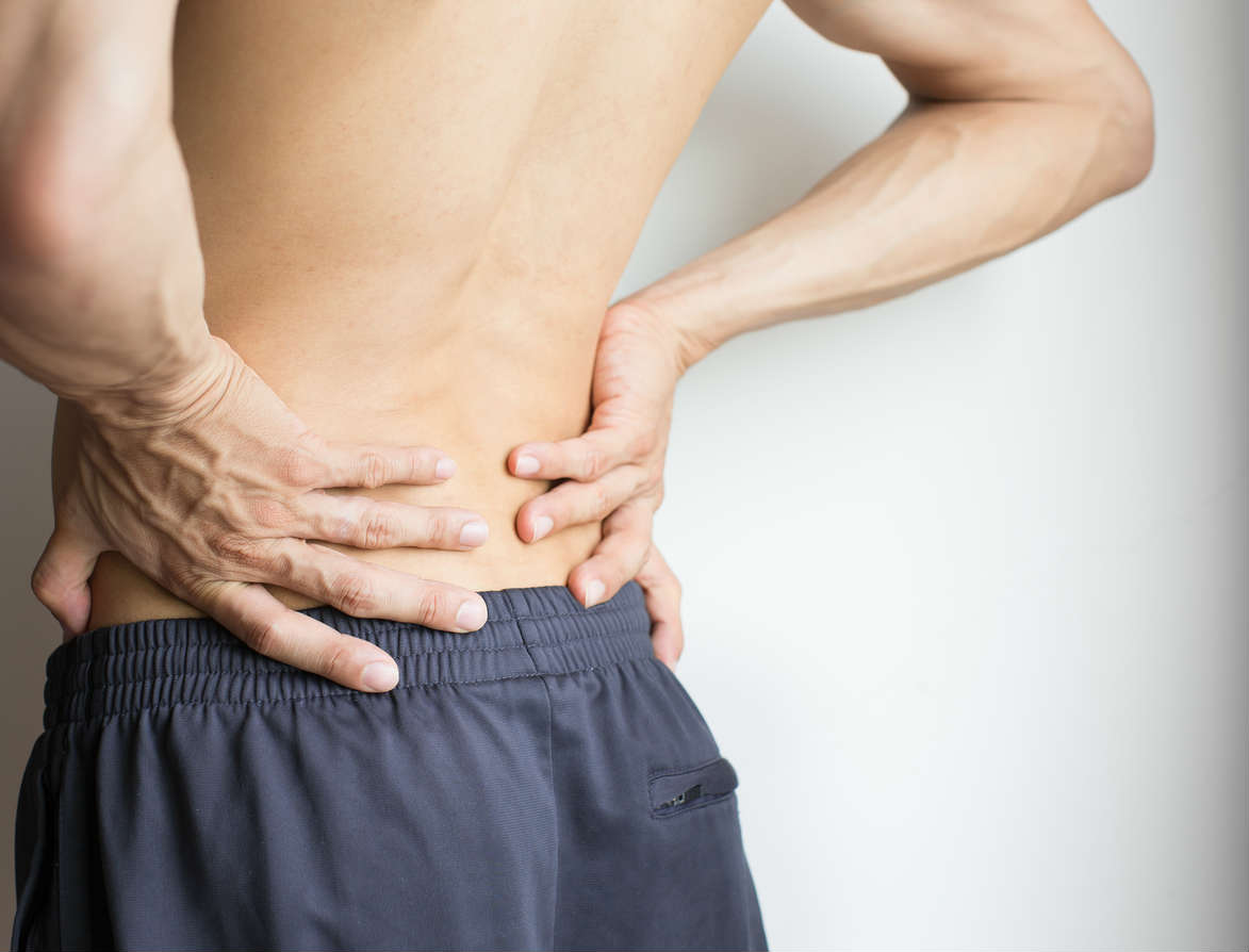 St. Louis man with lower back pain