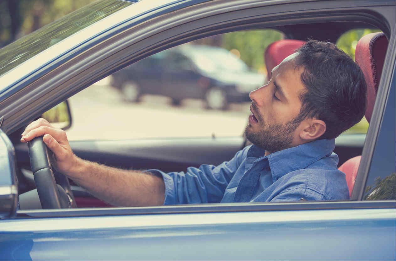 St. Louis man asleep behind the wheel