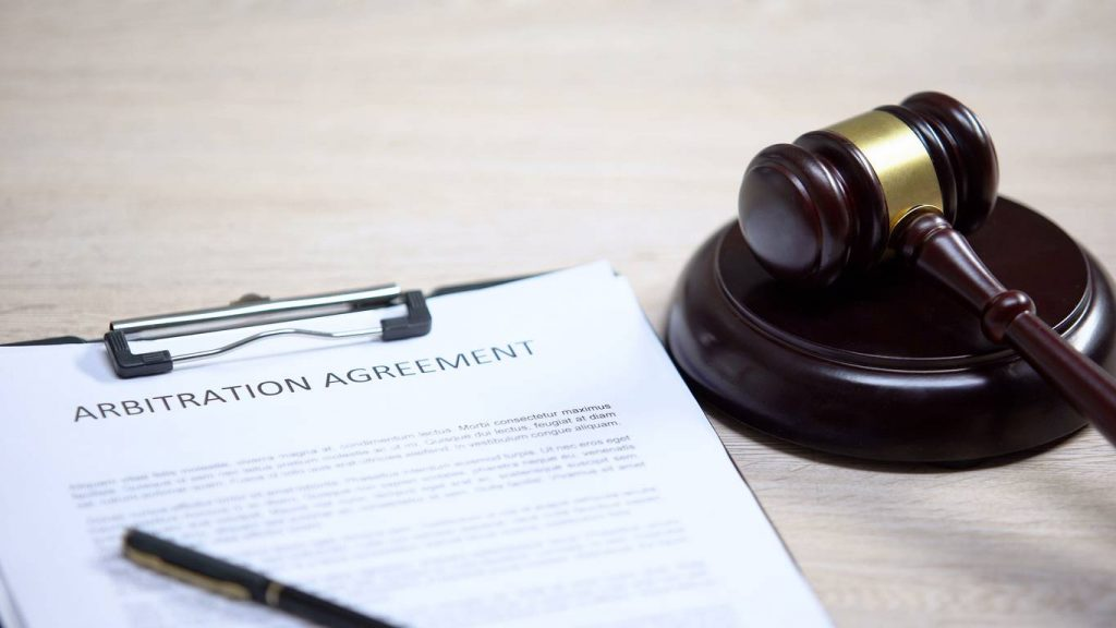 arbitration car accident agreement