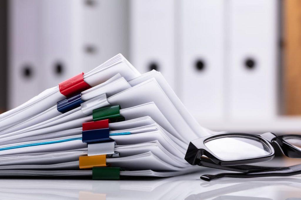 st. louis car accident claim documents