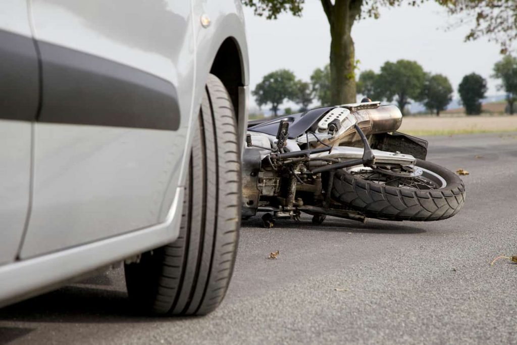 st. louis motorcycle accident scene