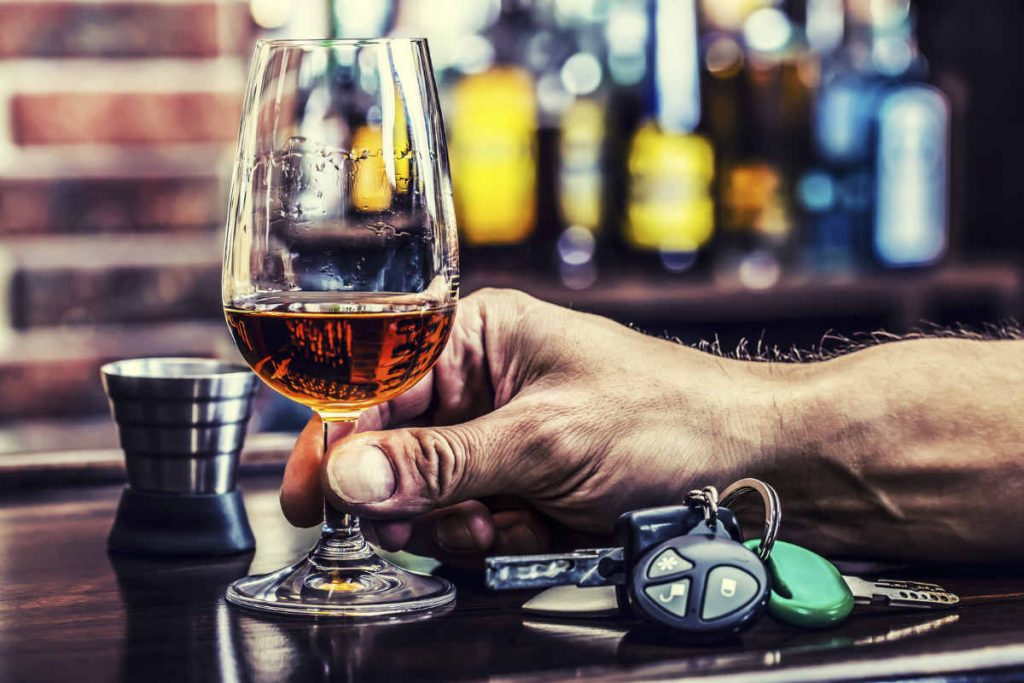 drinking alcohol before driving