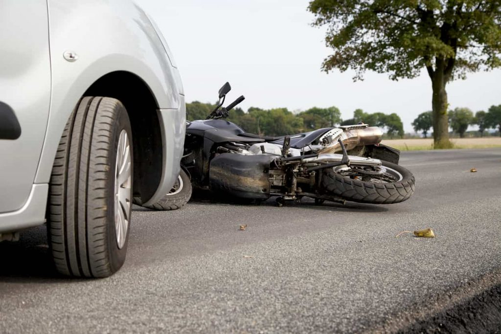 scene of a st. louis motorcycle accident